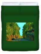 34- Enchanted Highway Duvet Cover