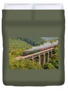 34067 Tangmere Crossing St Pinnock Viaduct. Duvet Cover