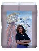 Cuidad Juarez Mexico Color From 1986-1995 Duvet Cover