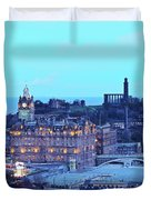 Edinburgh, Scotland Duvet Cover