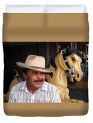 Cuidad Juarez Mexico Color From 1986-1995 Duvet Cover