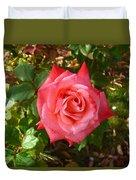 La Vie En Rose  Duvet Cover