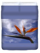 Australia - Bird Of Paradise On Blue Duvet Cover