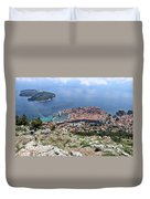 Dubrovnik Croatia Duvet Cover