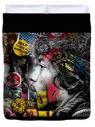 Jimi Hendrix Collection Duvet Cover