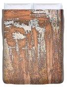 Rusty Metal Duvet Cover
