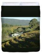 3b6348 Benzinger Family Winery Duvet Cover