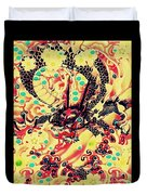 3d Color Dragon Duvet Cover