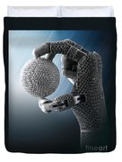 3d Printing Additive Robotic Hand Duvet Cover