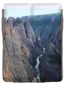 3d10307 Narrows View On North Rim  Duvet Cover