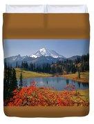 3m4824 Tipsoo Lake And Mt. Rainier H Duvet Cover