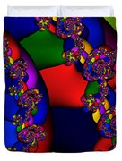 3x1 Abstract 909 Duvet Cover
