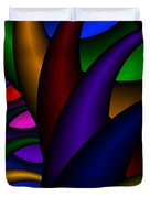 3x1 Abstract 915 Duvet Cover