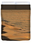 Golden Sand  Duvet Cover
