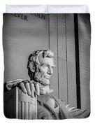 Abraham Lincoln Memorial In Washington Dc Usa Duvet Cover