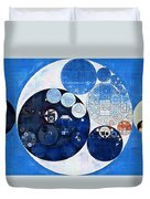 Abstract Painting - Midnight Express Duvet Cover