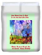 Angel In A Field Duvet Cover