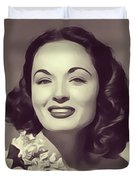 Ann Blyth, Vintage Actress Duvet Cover