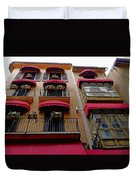 Artistic Architecture In Palma Majorca, Spain Duvet Cover