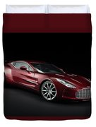 Aston Martin One-77 Duvet Cover