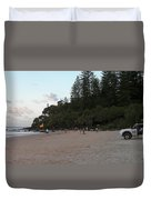 Australia - Greenmount Surf Club On Patrol Duvet Cover