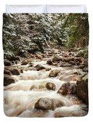 Autumn At Gore Creek - Vail Colorado Duvet Cover by Brian Harig