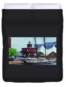 4 Baltimore Icons In One Shot Duvet Cover
