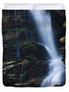 Big Bradley Falls North Carolina Duvet Cover