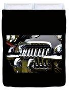 Black Corvette Duvet Cover