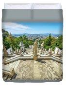 Bom Jesus Staircase Braga Duvet Cover