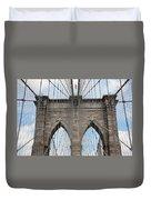 Brooklyn Bridge - New York City Duvet Cover