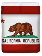 California Flag Duvet Cover