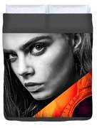 Cara Delevingne Collection Duvet Cover