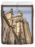 Cathedral Of Seville - Seville Spain Duvet Cover