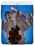 Charlotte Skyline Mini Planet Duvet Cover