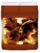 Chemical Painting Duvet Cover