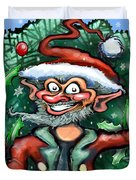 Christmas Elf Duvet Cover