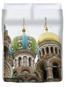 Church Of The Savior On Spilled Blood  Duvet Cover