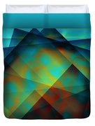Color Patches Duvet Cover