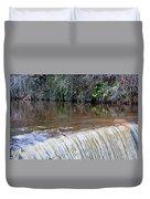 Cramond Waterfall Duvet Cover