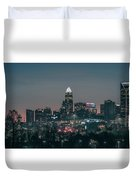 Early Morning In Charlotte Ncorth Carolina January 2018 Duvet Cover