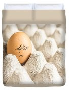Eggs Have Feelings Too Duvet Cover