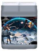 Episode 1 Star Wars Art Duvet Cover
