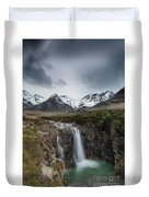 Fairy Pools Of River Brittle Duvet Cover