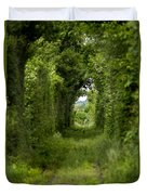 Famous Tunnel Of Love Location Duvet Cover