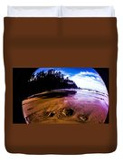 Fisheye Camera Duvet Cover