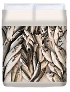 Fresh Fish Duvet Cover