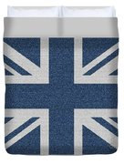 Great Britain Denim Flag Duvet Cover