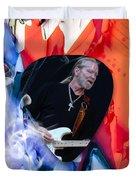 Gregg Allman Art Duvet Cover