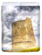Hadleigh Castle Art Duvet Cover